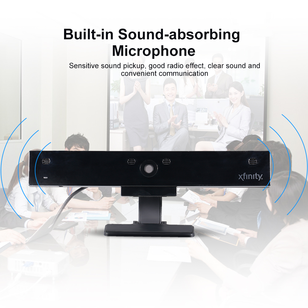 5 Million Pixels High-Definition 1080P USB Webcam with Built-in Microphone and Auto-Focus Lens 10