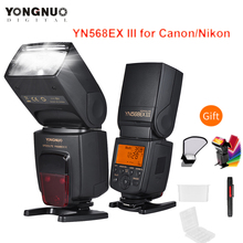 YONGNUO YN568EX III YN568 EX III Wireless TTL HSS Flash Speedlite for Canon EOS 1100d 650d 600d 700d for Nikon D800 D750 D7100