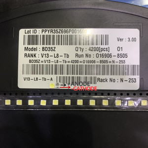 Image 5 - 1000 LG バックライト 2 ワット 6V 3535 クールホワイト Lcd バックライトテレビ Tv アプリケーションスタイル  2