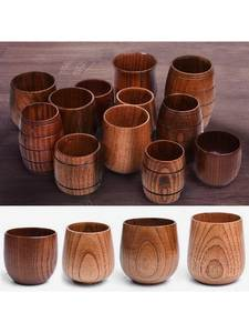 Belly-Cups Kitchen-Bar Beer Coffee Milk Handmade Natural Tea Big Wood Drinkware Spruce