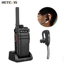 Retevis Walkie Talkie Bluetooth RB637 RB37 PTT Bluetooth PMR 446 Two-way Radio Portable Radio Station Walkie-talkies for hunting