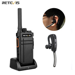 Retevis Walkie Talkie Bluetooth RB637 RB37 PTT Bluetooth PMR 446 Two-way Radio Portable Radio Station Walkie-talkies for hunting