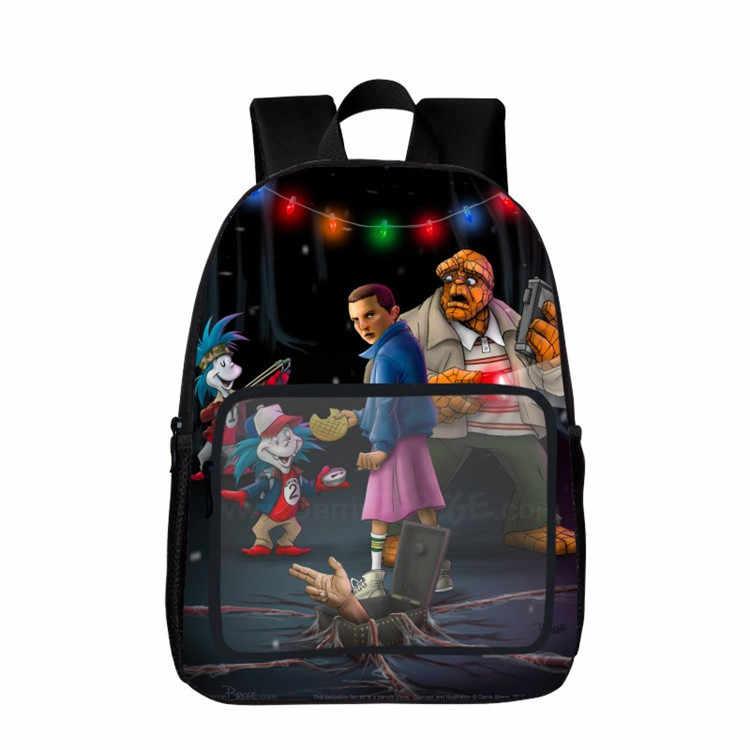 """16 """"19"""" странные вещи, школьный рюкзак, книга, ноутбук, компьютер, дети, ученики, школа, мультфильм, подарок"""