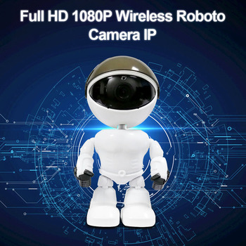 1080P HD Wireless WIFI IP Camera Auto Tracking Camera Home Security Camera Network Surveillance CCTV Robot Intelligent Camera