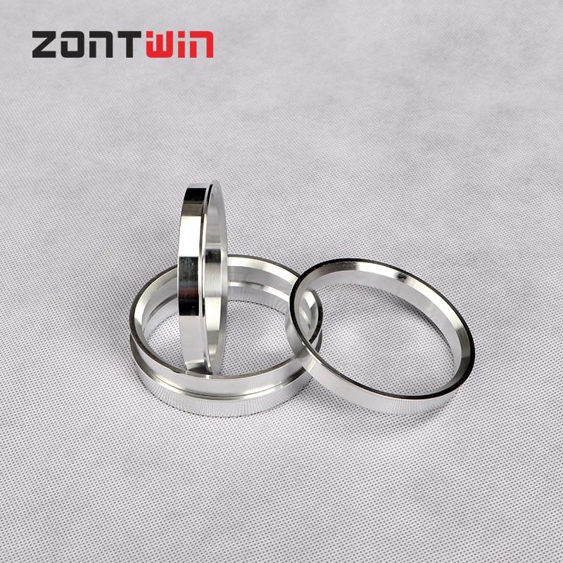 4pcs Car Aluminum Hub Rings Hub Centric Rings Wheel Bore 56.6-56.1 57.1-56.1 60.1-56.1 64.1-56.1 65.1-56.1 72.1-65.1mm