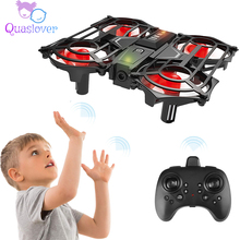 Kids Mini Drone 2.4G 6 Axis RC Quadcopter Helicopter Aircraft Fixed 3D Flip and Headless Mode Quadcopter RC Helicopter for Kids