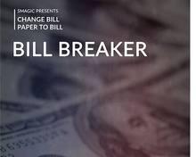 Instruções on-line bill breaker by smagic productions