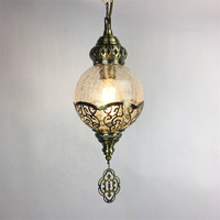 Turkey Ethnic Customs Handmade Lamp Romantic Cafe Restaurant Bar Tree Pendant Light Bar Mosaic Pendant Lamp deco chambre