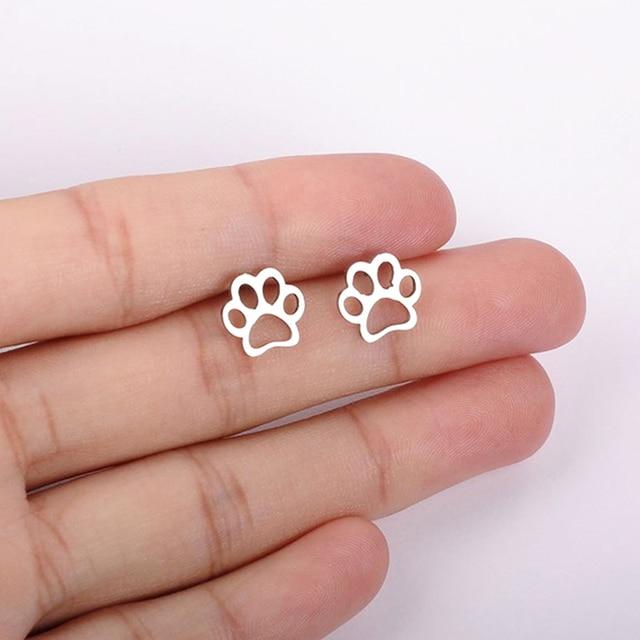 Dog Paw  Earrings  2