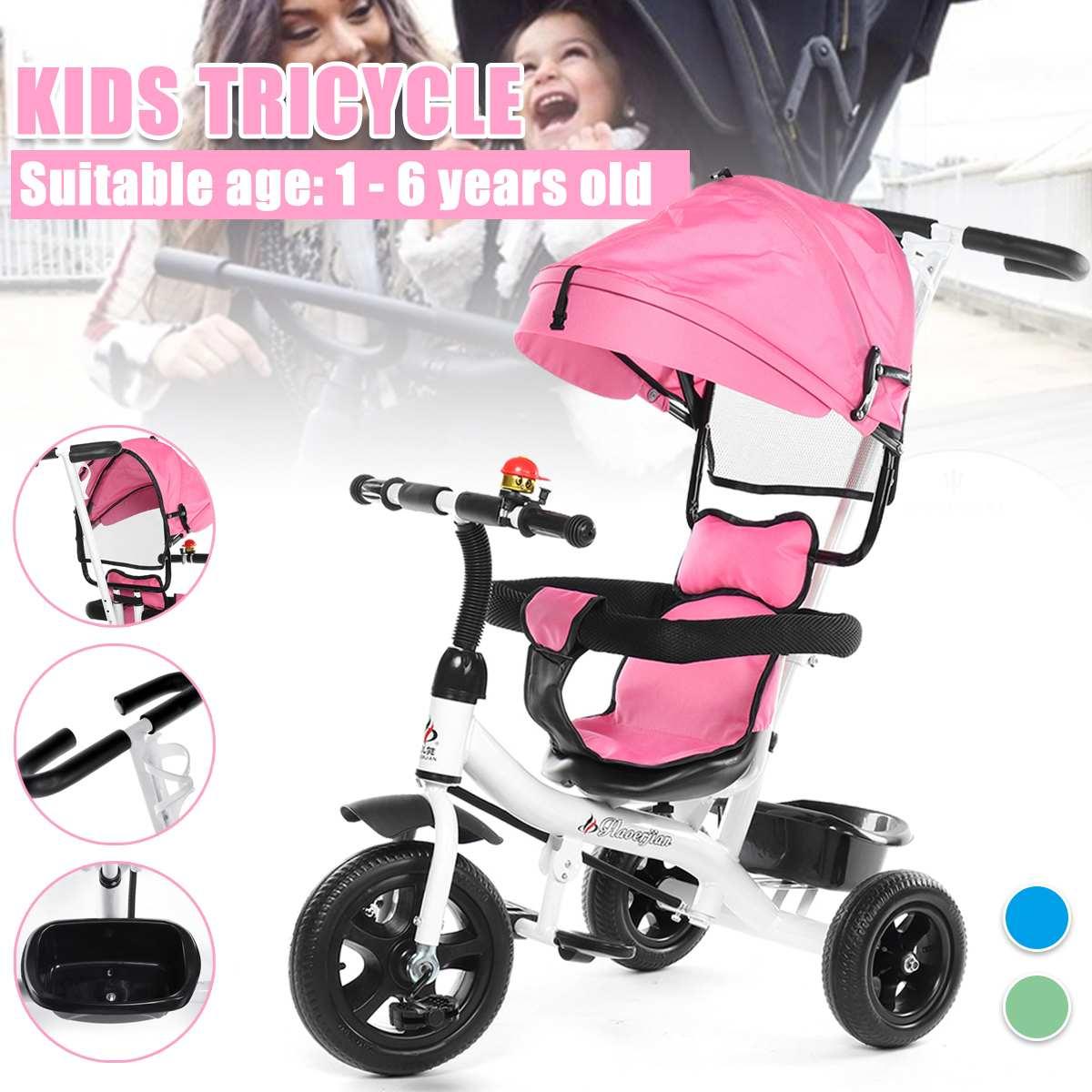 Light Baby Stroller Car Portable Folding Baby Stroller Lightweight Pram Baby Carriage Children Tricycle Bike 3 Wheel Bicycle