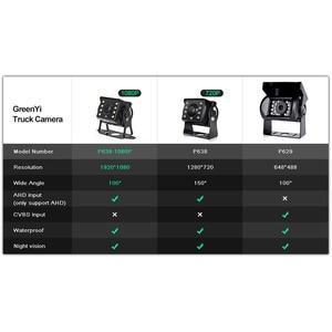 Image 5 - HD AHD 1280*720P Sternenlicht Nachtsicht 8 LED Auto Hintere Ansicht rückseite AHD Kamera Mit 10M 15M 20M Video Kabel