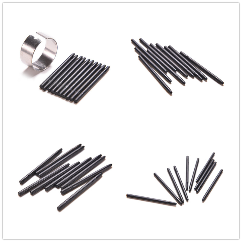 10PCS Digital Tablets Pen Tips Graphic Drawing Pad Replacement Refill Black Pen Nibs Only For Wacom BAMBOO CTE MTE CTL CTH