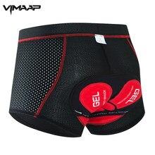 VIMAAP Pro Cycling Shorts Cycling Underwear Upgrade 5D Gel Pad Shockproof Cycling Underpants MTB Bike Bicycle Riding Shorts