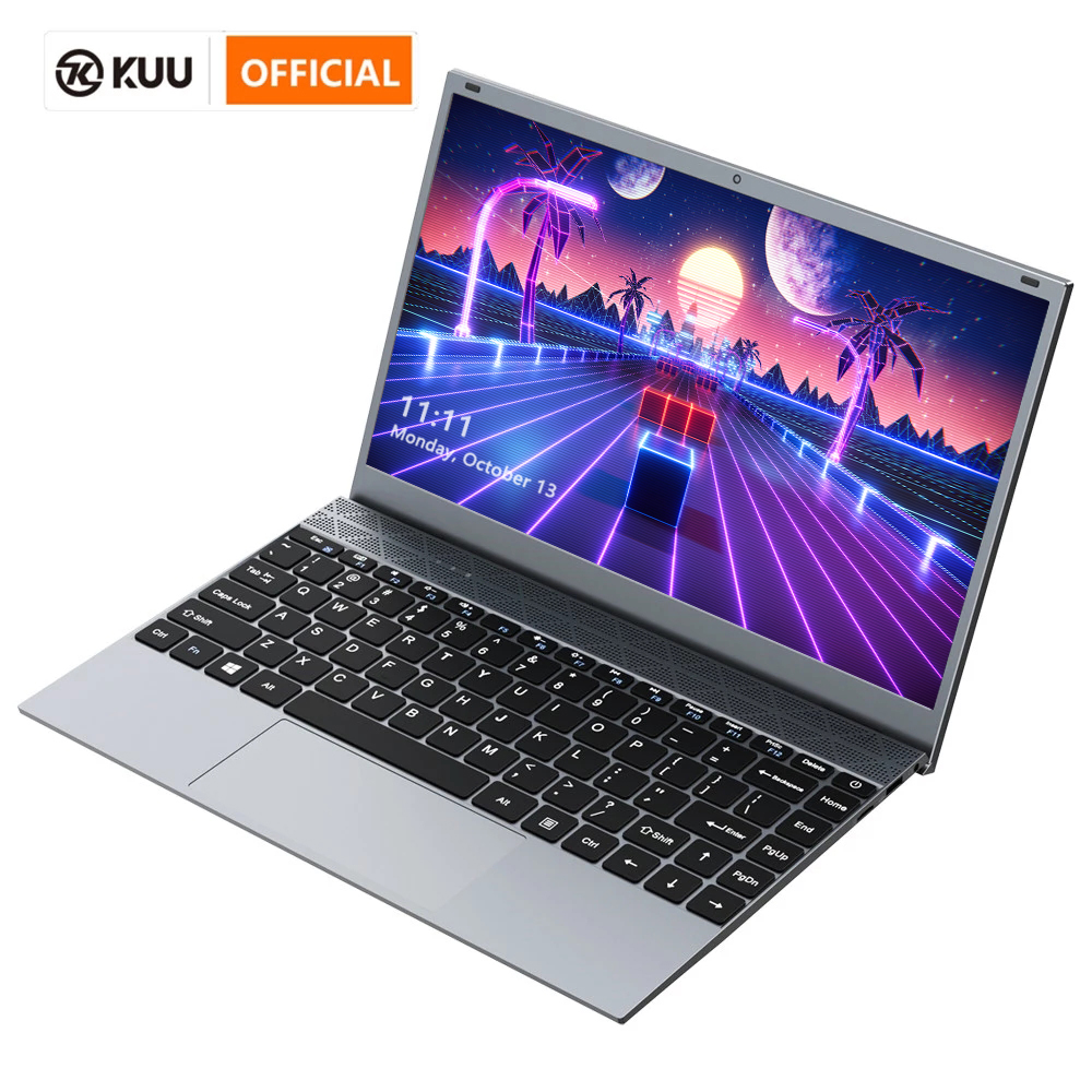 KUU 14 1 Inch 8GB DDR4 RAM 128G 256G SSD Windows 10 Laptop Intel Celeron J4115 Processor Full Size Keyboard Student Notebook
