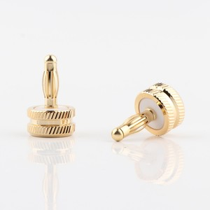 Image 2 - Hifi audio 8pcs CA705 gold plated Noise Stopper Amplifier Terminal Binding Post Caps