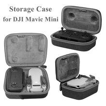 Mavic Мини Защитная сумка для хранения чехол для переноски жесткий корпус коробка протектор для DJI Mavic мини Дрон пульт дистанционного управления аксессуары