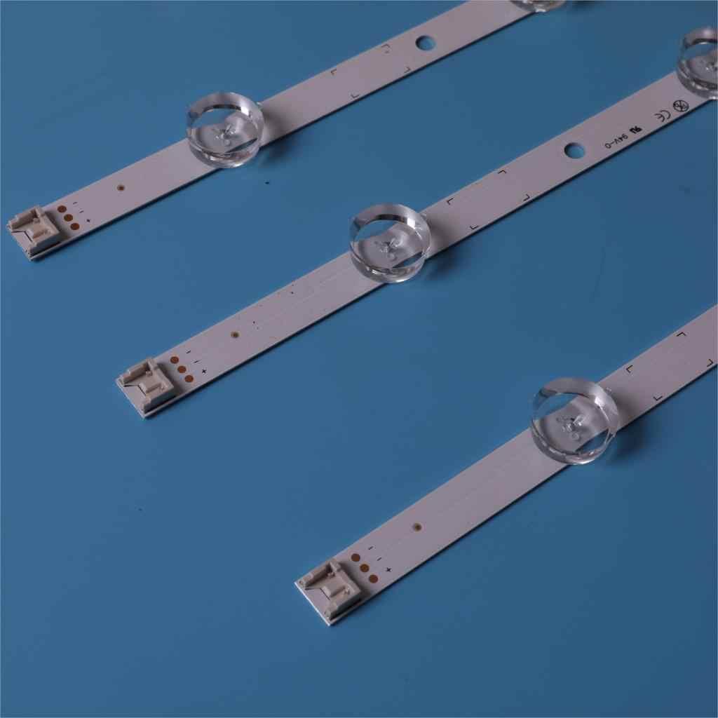 (ערכה חדשה) 3 PCS 6/7LED 590mm LED רצועת תאורה אחורית החלפה עבור LG 32LN5100 32LN545B Innotek POLA2.0 32 אינץ B סוג HC320DXN