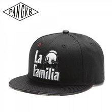 Tangkb – casquette de marque tête de famille, chapeau noir LA hip hop, pour hommes et femmes adultes, plein air, soleil, baseball