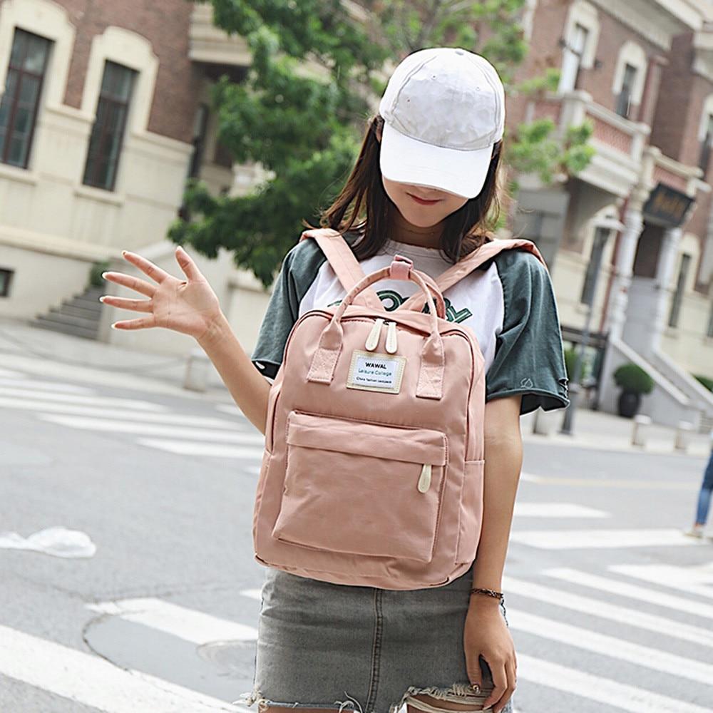 Female Backpack 2019 New Fashion Women Girl Student Canvas Shoulder Bag School Bag Travel Tote Backpack Mochilas Mujer 2019 #T3G