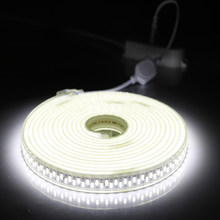 LED Strip 220V-240V SMD 5730 180LEDs /m 1M-5M-10M Super Bright Flexible Light Used For Lndoor And Outdoor Decorative Lighting