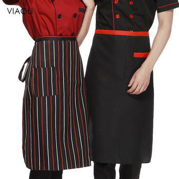 Adjustable Women Men Kitchen Aprons Restaurant Uniforms Aprons Restaurant Baking Cooking Bib for Chef Waiter Kitchen Supplies фото