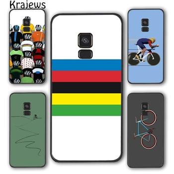 Krajedom rower górski jazda na rowerze sztuki telefon skrzynki pokrywa dla Samsung Galaxy S5 S6 S7 krawędzi S8 S9 S10 E lite S20 plus ultra uwaga funda tanie i dobre opinie Krajews CN (pochodzenie) Fitted Case soft back case Galaxy s6 Galaxy s6 krawędzi GALAXY S6 krawędzi PLUS Galaxy S7 Galaxy S7 Krawędzi