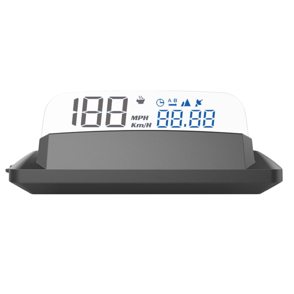 Digital 5in Car Head UP Display GPS Speedometer HUD Display No Double Image
