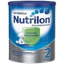 Кисломолочная смесь Nutrilon 2 с 6 мес 400 гр