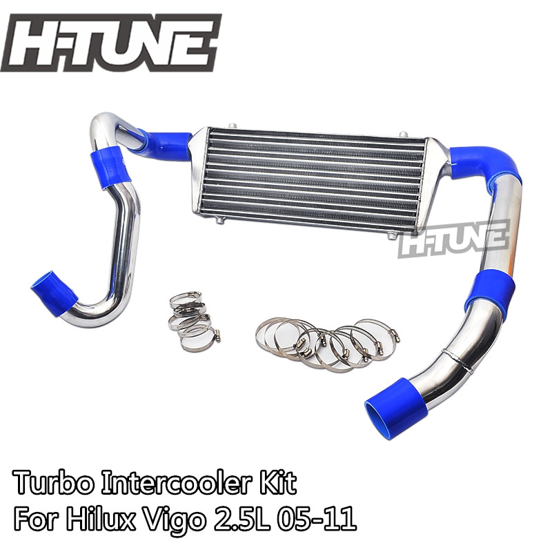 H-TUNE 4x4 Pickup Front Mount Intercooler Kit Piping Kit for Hilux Vigo 2.5L diff drop kit for hilux
