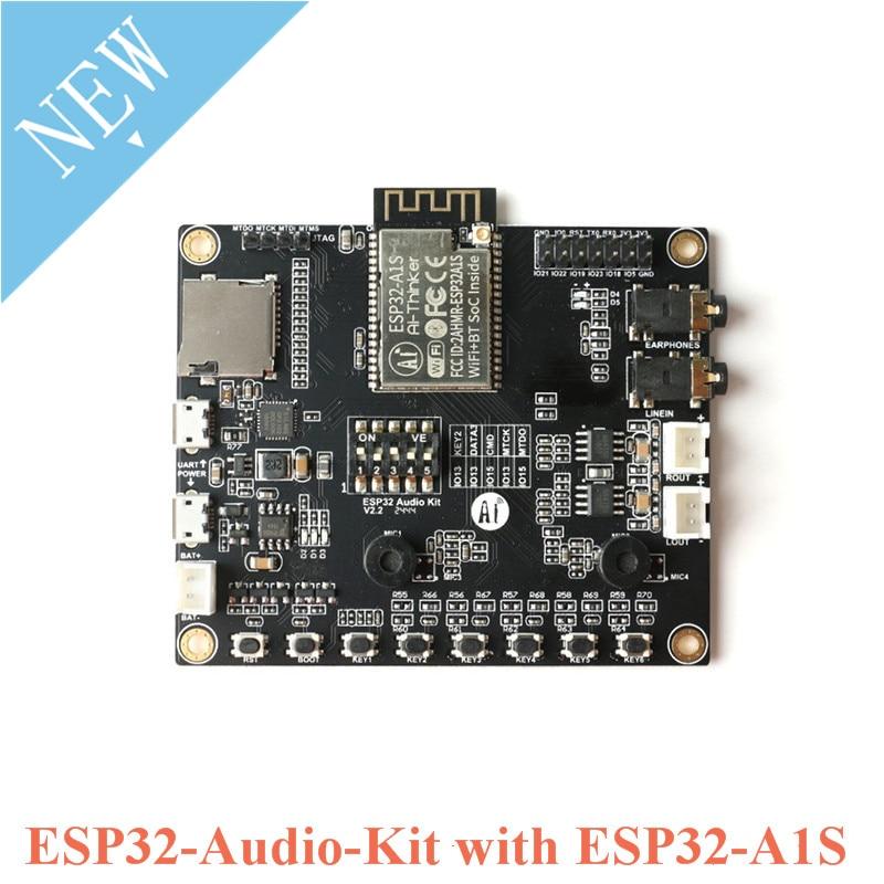 ESP32-Audio-Kit ESP32-Aduio-Kit ESP32-A1S ESP32 аудио макетная плата Bluetooth модуль беспроводного доступа Wi-Fi низкая Мощность двухъядерный 8 м PSRAM