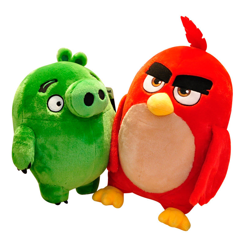 Birds Plush Doll Red Chuck Bomb Anime Movie Game Cute Roles Collection Gifts For Children Kids