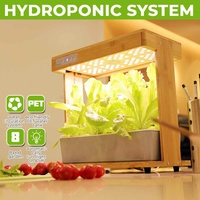 Nursery Flower Planting Box Intelligent Hydroponic Planter Soilless Cultivation Equipment Automatic Water Absorbing Flower Pot
