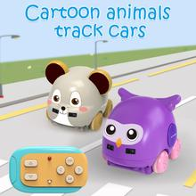 Multifunctional Dual Modes RC mouse Car Owl Wireless Cartoon
