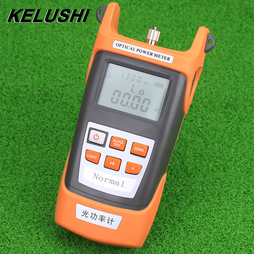 FTTH Fiber Optical Power Meter Cable Tester With FC/SC Connectors -50~+20dBm/ -70~+3dBm Fiber Attenuation Power Meter