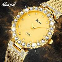 Women Watches Luxury Brand Watch Bracelet Waterproof Dropshipping 2019 Diamond Ladies Wrist Watches For Women Quartz Clock Hours
