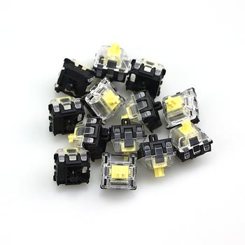 Gateron optyczne żółte przełączniki hurtownia klawiatura optyczna przełącznik optyczne przełączniki prędkości klawiatura optyczna SK61 SK64 GK61 64 tanie i dobre opinie DYE FETISH Pulpit Angielski CN (pochodzenie) Mini Klawiatura Przewodowy Przewodzące Gumy Standardowy