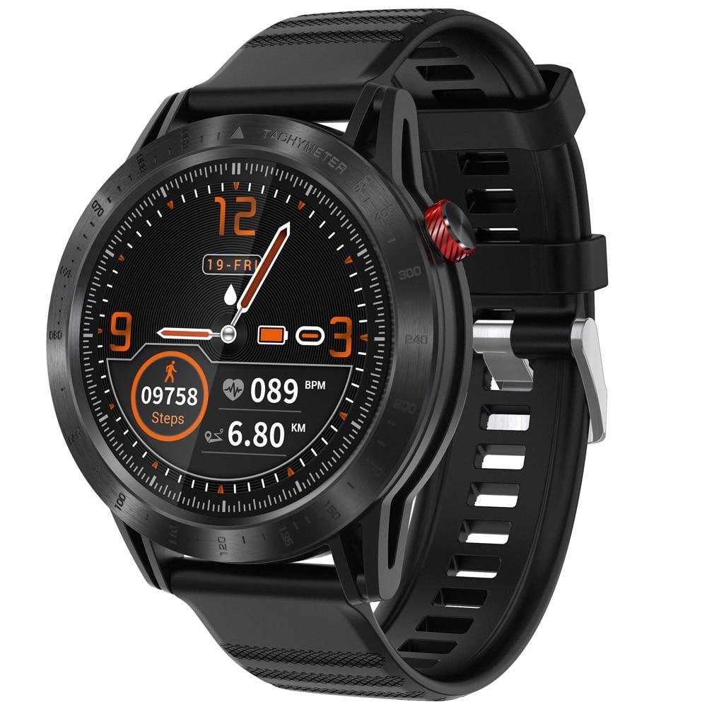 Temps propriétaire croix Fitness Tracker montre intelligente plein écran tactile Multi cadrans appel Information rappel étanche Sport Smartwatch