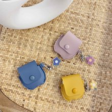 Leather Case For Airpods 1 2 Luxury Cute Cartoon Cover On Apple Airpod Air pods Coque Capa