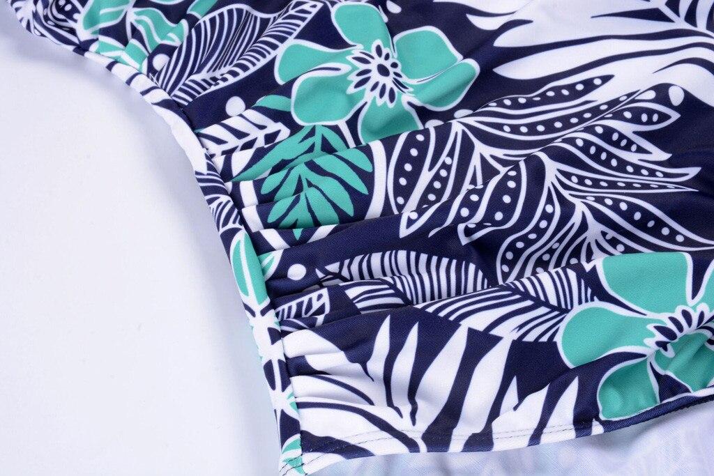 Женские купальные костюмы V-Neck для беременных с цветочным принтом, Цельный купальник бикини для беременных, Модный Купальник, пляжная одежда