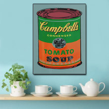 Nordic Art Posters and Prints Campbell's Soup Cans Wall Art Canvas Painting Pictures For Living Room Artwork Home Decor(China)