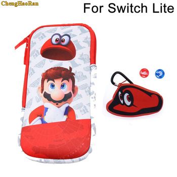 ChengHaoRan 1set Super Marioo grips + soft bag fashion pouch collection storage bag for PSP/PSV/NDSL/3DS/Switch mini Switch Lite игра для psp psv 10 ff ff10 hd