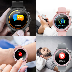Image 5 - SENBONO reloj inteligente S02, reloj inteligente deportivo con control del ritmo cardíaco y de la presión sanguínea y del oxígeno en la sangre, reloj de seguimiento de Fitness