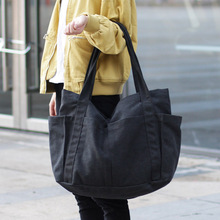 Brand Large Pocket Casual Tote Womens Handbag Shoulder Ladys Messenger Bag Canvas Capacity Bags For Women