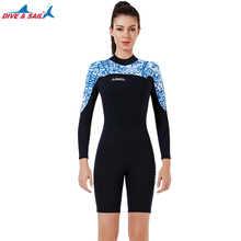1.5MM Female Neoprene Wetsuit Surfing Swimming Diving Suit Triathlon for Cold Water Scuba Snorkeling Spearfishing Sailing Suit sbart 3mm neoprene scuba diving surfing wetsuit men warm full body spearfishing wet suit for triathlon kitesurfing jumpsuit l