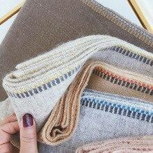 Marke Designer Kaschmir Schal Frauen 2019 Winter Schals Hohe Qualität Schals und Wraps Dicke Warme Pashmina Dame Decke Schal