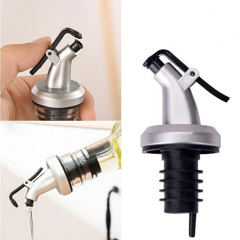 Oil bottle stopper vinegar bottles can ABS lock plug seal Leak-proof Food grade