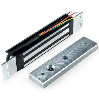 Pojedyncze drzwi 12V elektryczny magnetyczny zamek elektromagnetyczny 180KG (350LB) siła trzymania dla opóźnienia dostępu kontrola drzwi zamek magnetyczny tanie i dobre opinie Arvin Electronic magnetic lock