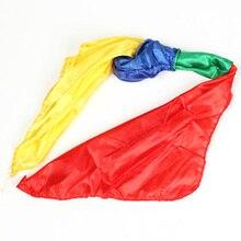 Шелковый шарф новинка дети изменение цвета взрослый трюк четыре цвета Забавный сценический магический реквизит игрушка