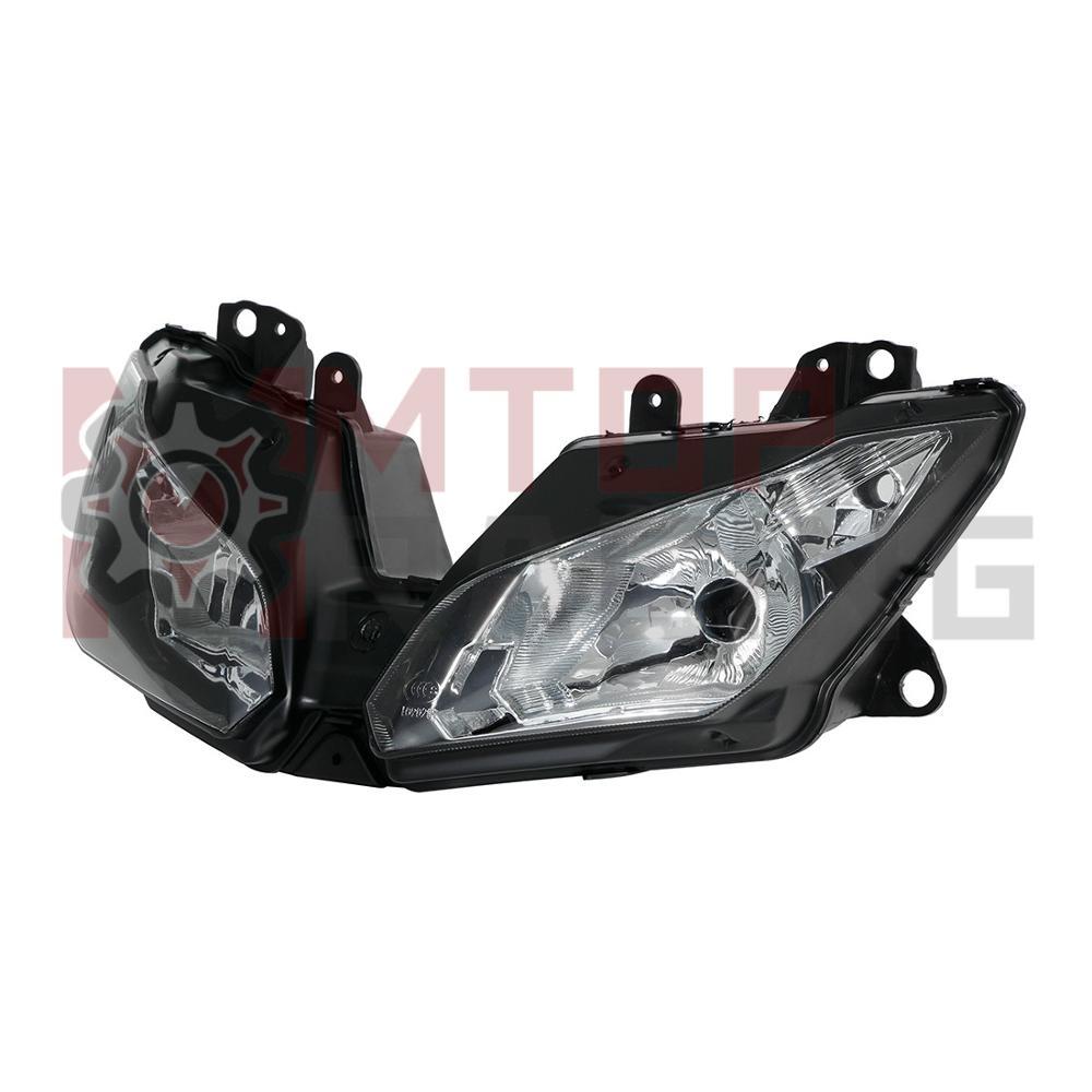 Montaż reflektorów motocyklowych do Kawasaki KLE650 Versys 650 KLZ1000 2015 2016 2017 2018 OEM 23007-0174 reflektor