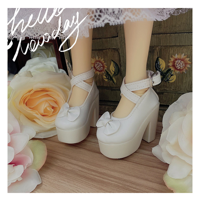 1/3 BJD shoes doll high heel shoes 2 colors for 1/3 BJD doll shoes doll accessories